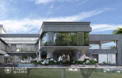 Deluxe contemporary style luxury villa Architect Magazine