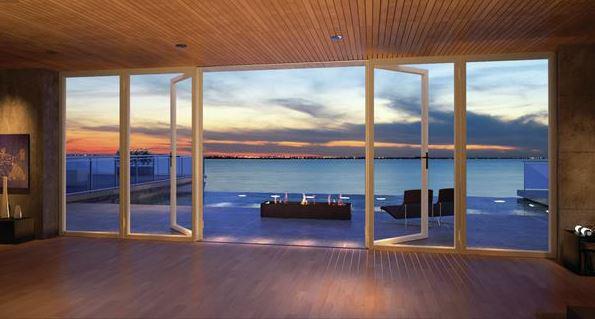 RoomsWithinRooms and Window Walls  Custom Home Magazine  Design History Windows Bedroom
