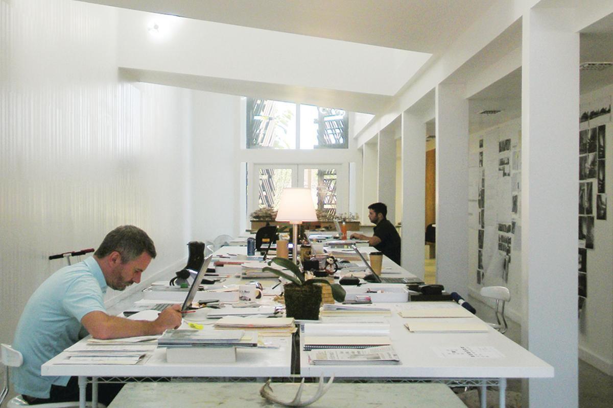 budget kitchen remodel trash cans de leon & primmer architecture workshop designs new studio ...