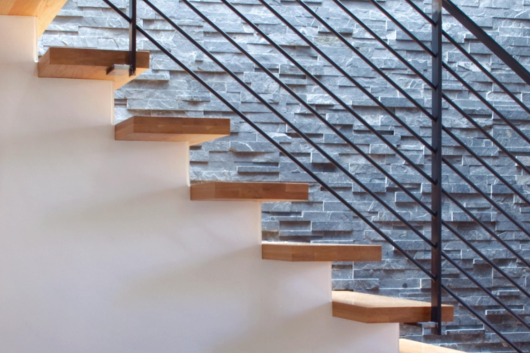 An Easier Way to Design Floating Stairs  Builder Magazine  Products Molding Millwork and Trim