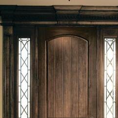 Pella Kitchen Windows Island Lights Wood-look Fiberglass Entry Door   Jlc Online Doors ...