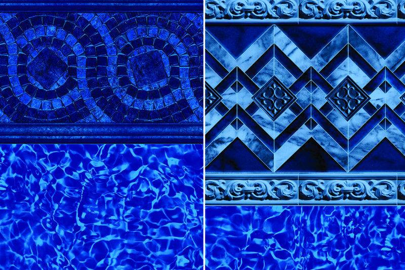 Tara Liners Introduces Two New Patterns Pool  Spa News  Products Vinyl Pools 2018 New Products
