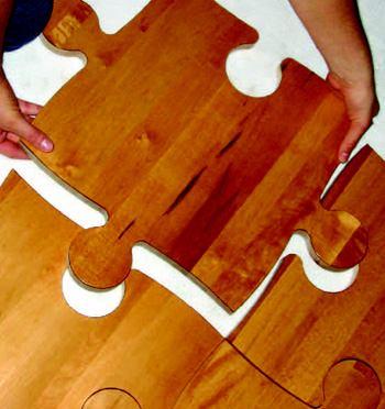 Puzzle Pieces  Builder Magazine  Flooring Wood Lumber