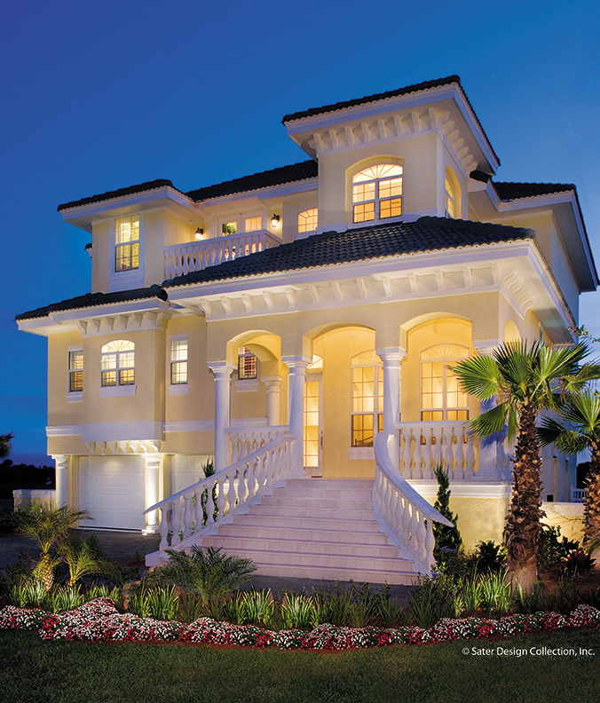 FourPlans Cool Coastal Homes from Dan Sater  Builder