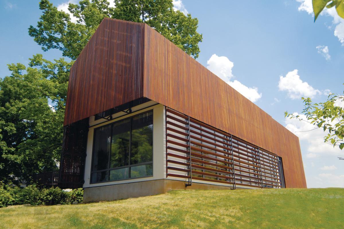 Modular 4 Sustainable Residence and Prescott Passive House Kansas City Kan  Custom Home