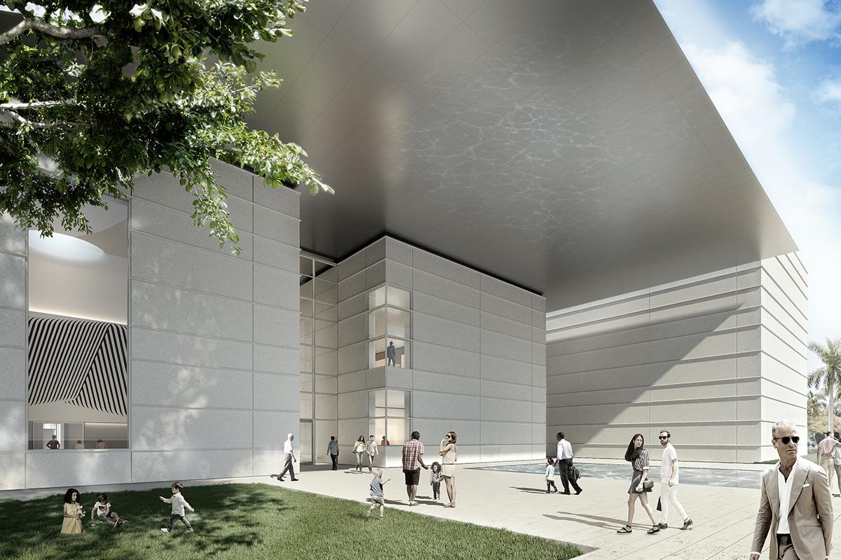 Norton Museum Of Art Architect Magazine Foster