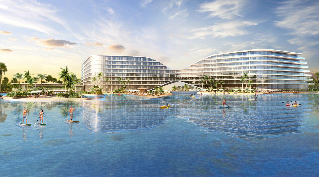 Crystal Lagoon Planned for Lake Nona  Builder Magazine  Amenities OrlandoKissimmee FL
