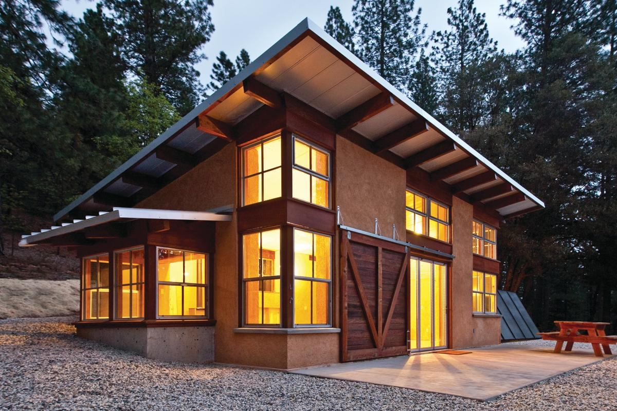 Mountain Solo Residential Architect Green Building