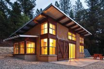 Passive Solar Modular Mountain Homes