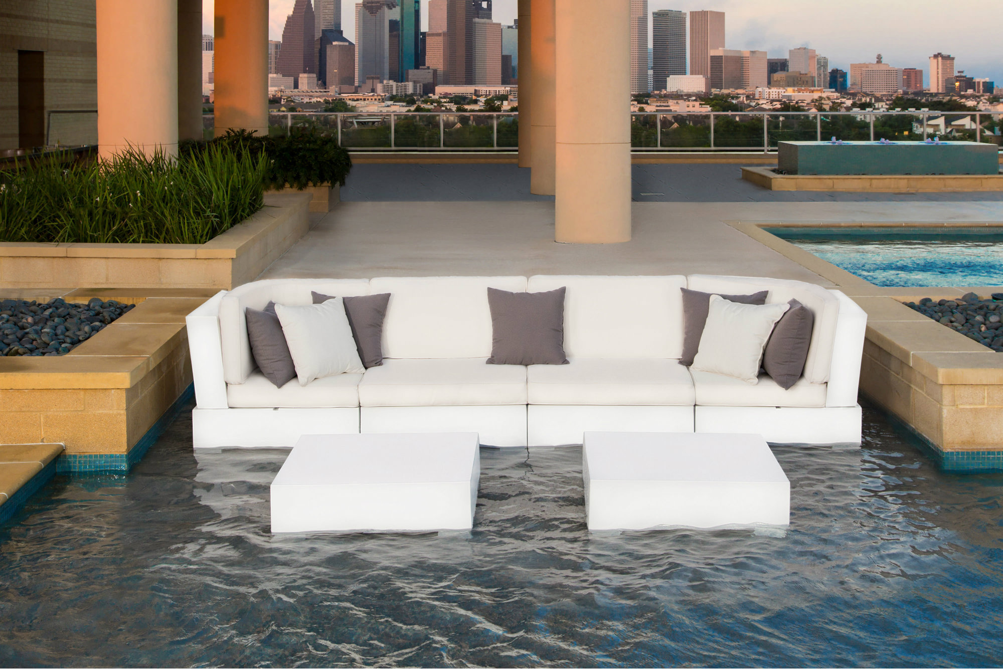 Chairs For Pool Ledge Lounger Offers Modular Furniture For Swimming Pools