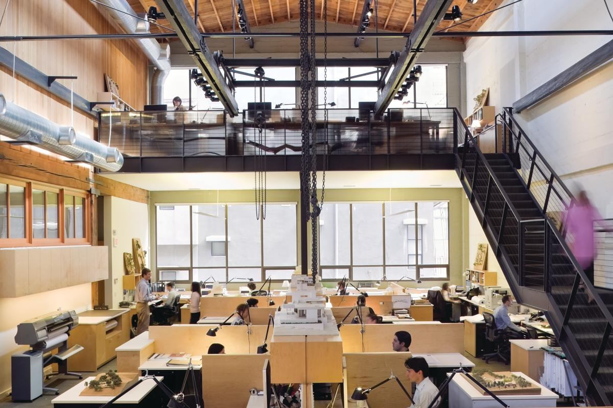 Walker Warner Architects office occupies a 1920s San