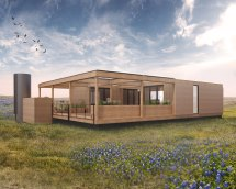 Rainwater Modular Home Texas