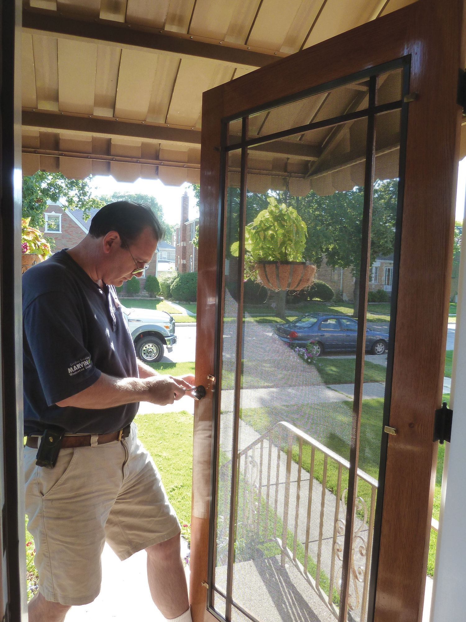 Building a Wooden Screen Door  JLC Online  Doors