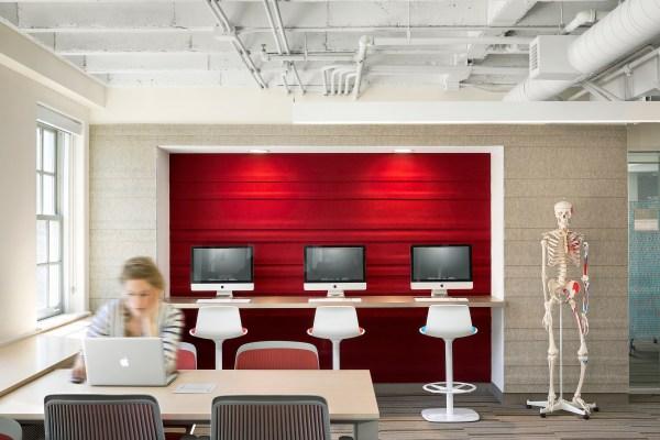 Dartmouth College - Dana Biomedical Library Architect