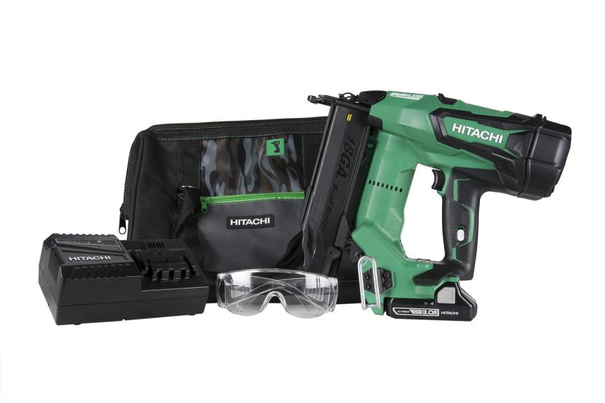 Hitachi 18Volt Cordless Nailers  Tools of the Trade