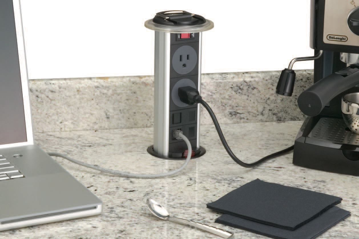 PopUp Power Outlet  JLC Online  Countertops Electrical