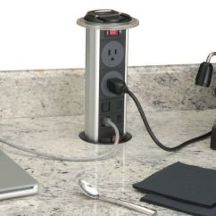 Kitchen Power Grommet Remodeling Pop Up Outlet Jlc Online Countertops Electrical