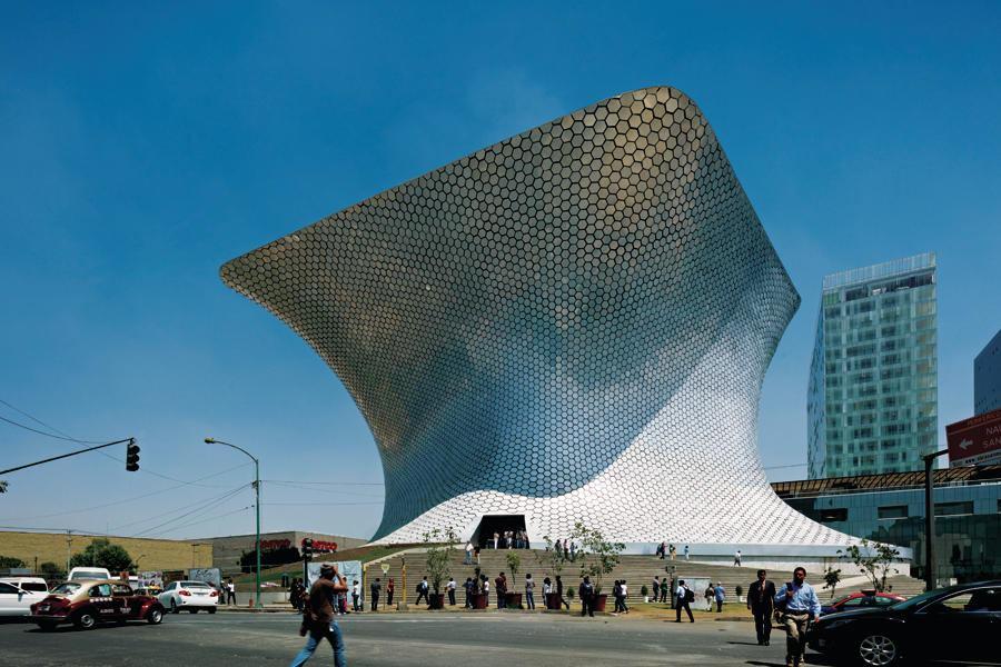 Museo Soumaya  Plaza Carso Mexico City  Architect Magazine  Cultural Projects Urban Design