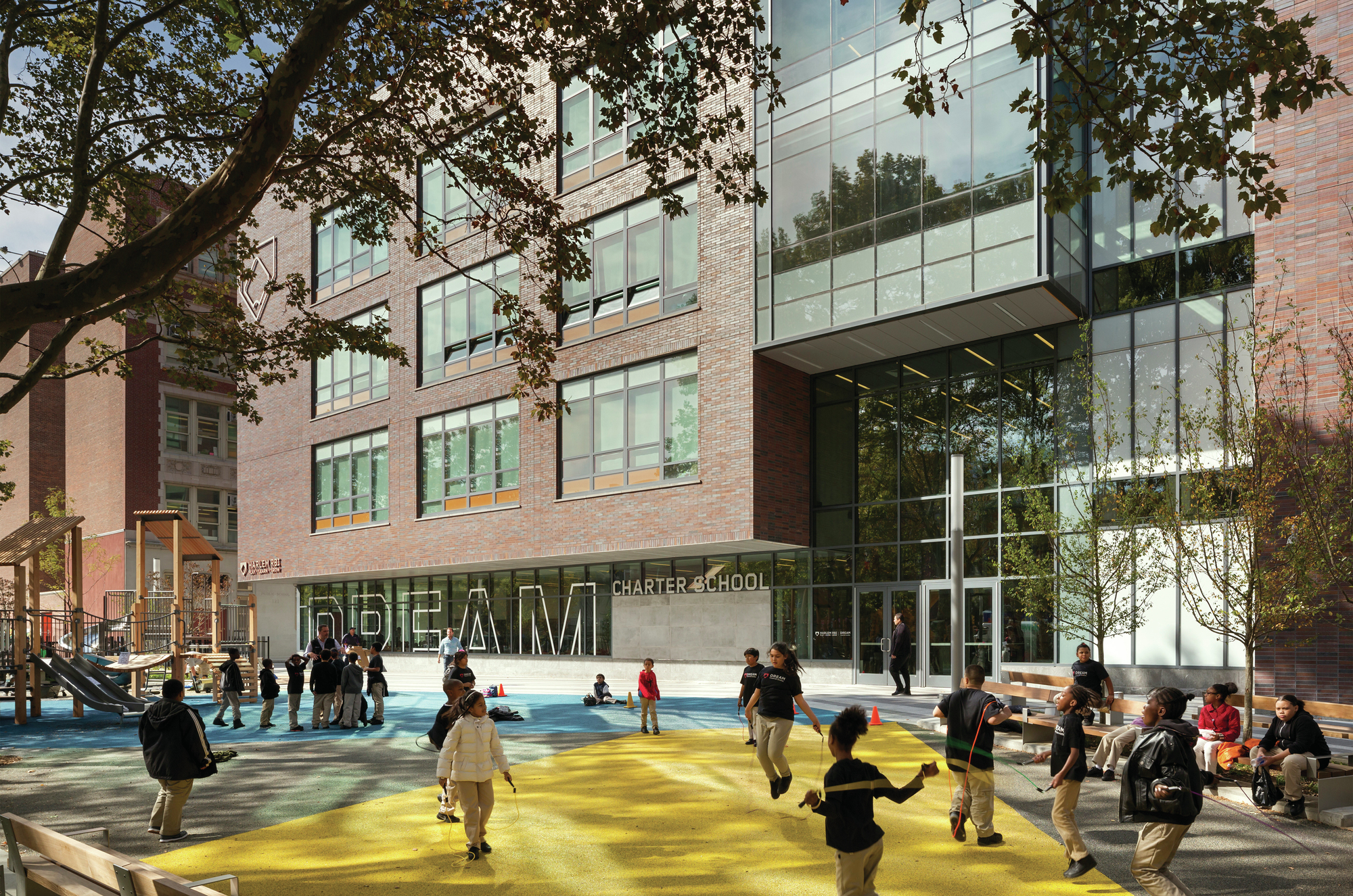 MixedUse Development in Harlem Connects Community With