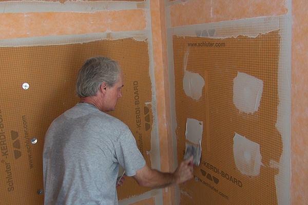 backsplash for white kitchen unfinished islands prepping shower walls tile   jlc online tile, ...