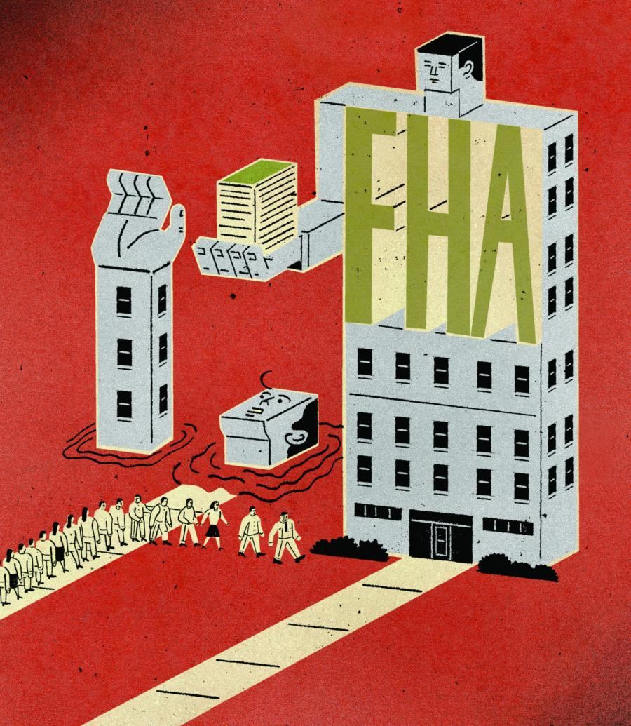 With Credit Tight Builders and Buyers Line up for FHA Financing  Builder Magazine  Business