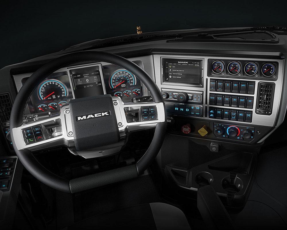 Mack Trucks Updates Mack Pinnacle Granite Models
