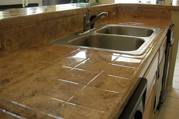q a preventing grout stains on kitchen