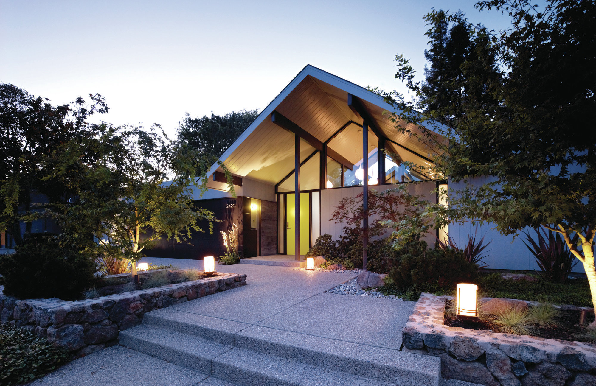 Modernizing a Historic Eichler Home  Remodeling  Projects WholeHouse Remodeling Bedroom