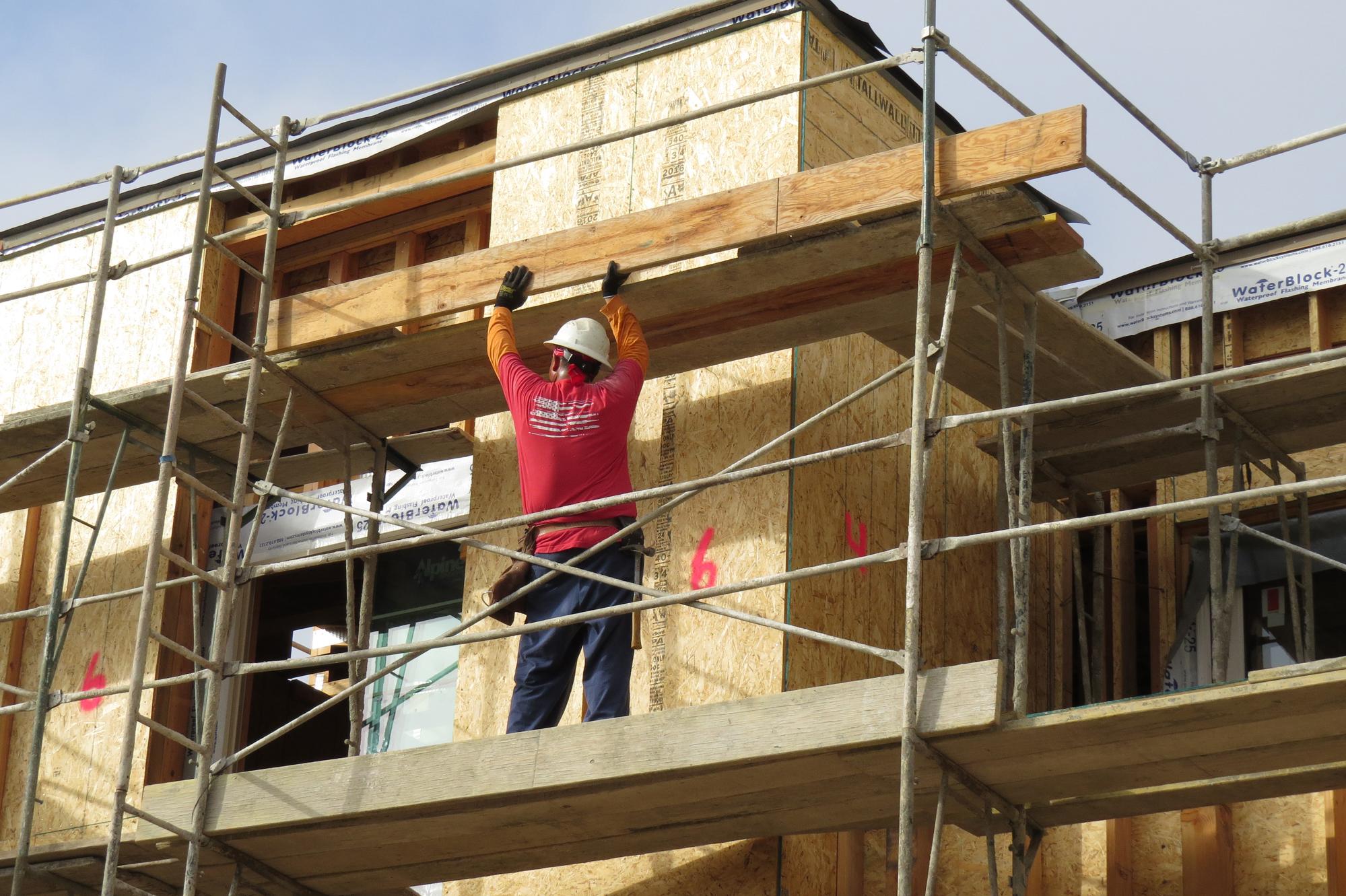 home kitchen equipment kohler porcelain sink safe scaffolding, production-style | jlc online ...