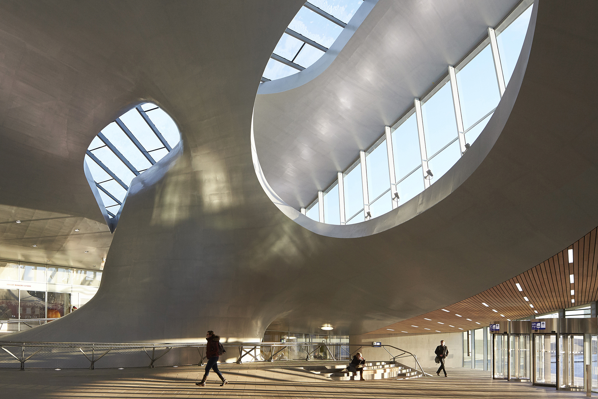 Arnhem Station  Architect Magazine  UNStudio Arnhem Netherlands Netherlands Transportation