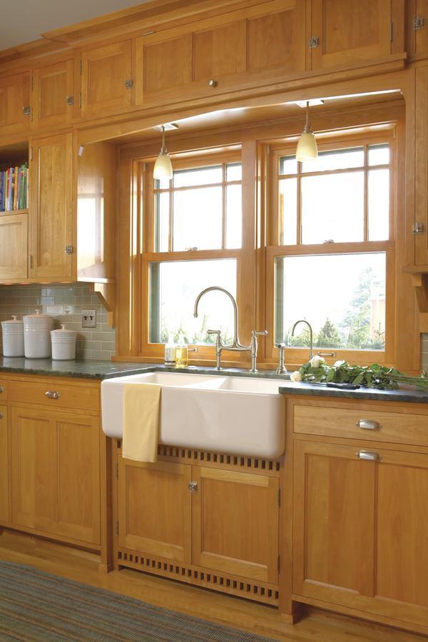 Prairie School Companion A 1920s Kitchen Gets Custom Treatment  Remodeling  Kitchen Design