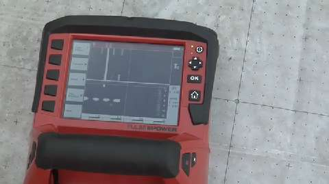 Hilti PS 1000 XScan Ground Penetrating Radar System  JLC