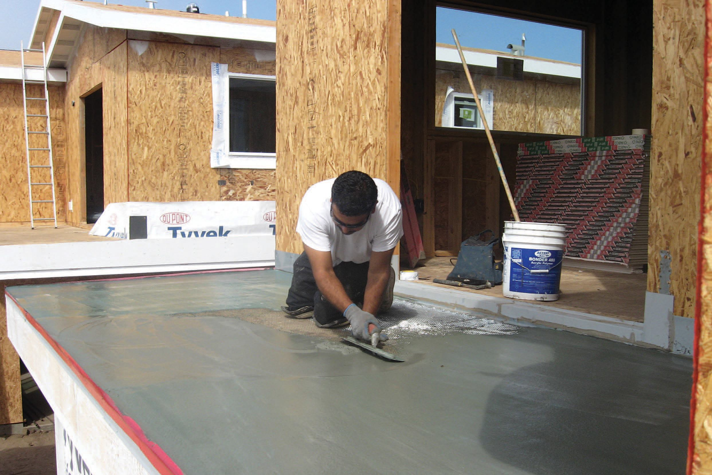 Dry Deck Over Living Space  JLC Online  Decks Polymer