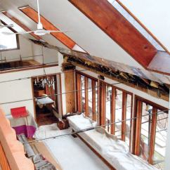 Kitchen Contractor Sinks Houzz Rescuing A Spreading Roof | Jlc Online Metal, Framing ...