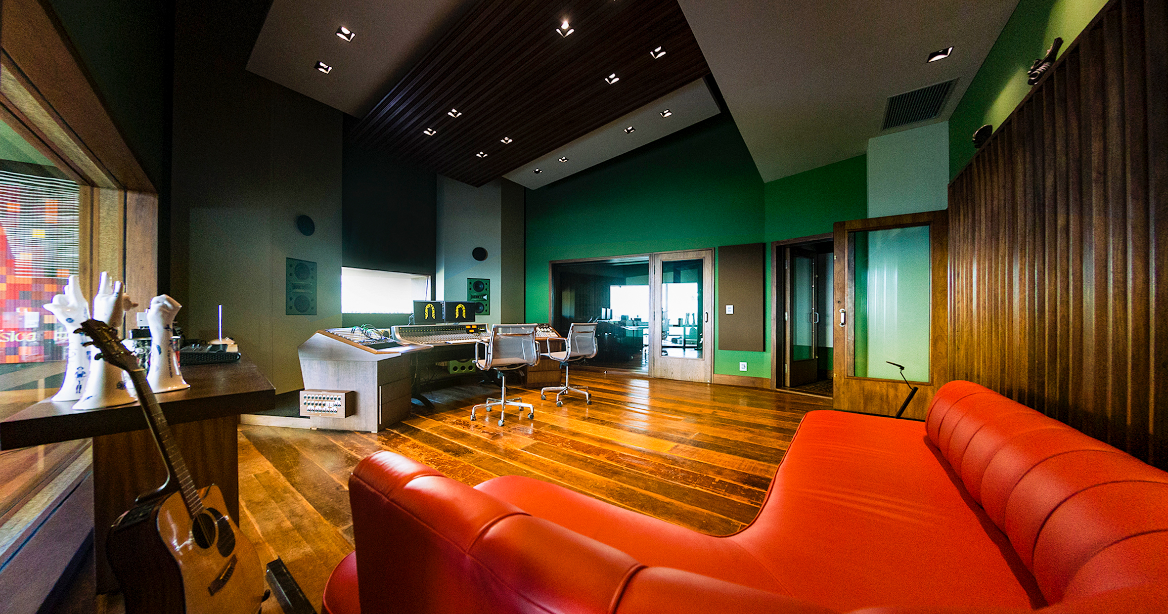 House Recording Studio In Belo Horizonte Architect
