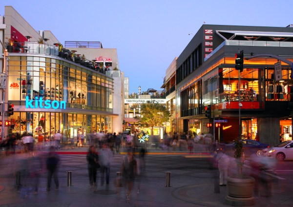 Los Angeles Santa Monica Place Mall