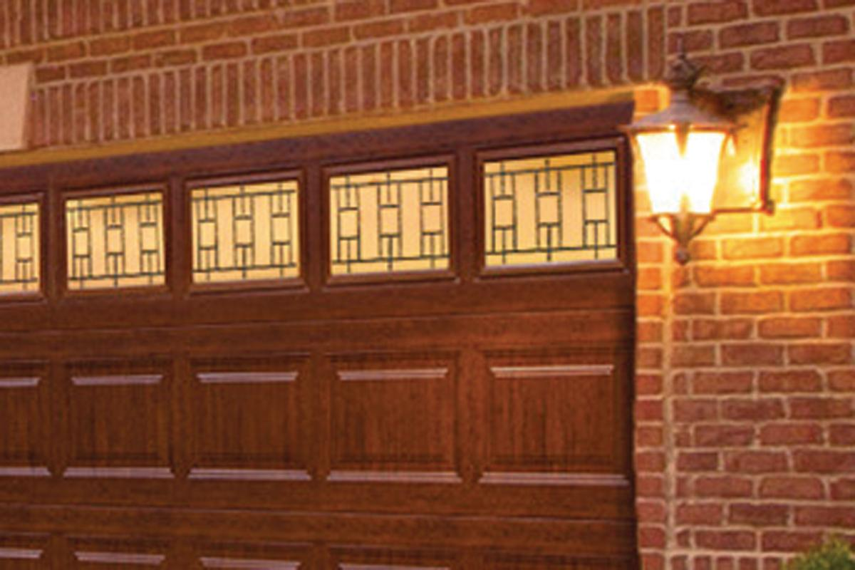 Clopay UltraGrain Finish in Cherry  Remodeling  Doors Exteriors Parking Lots and Garages