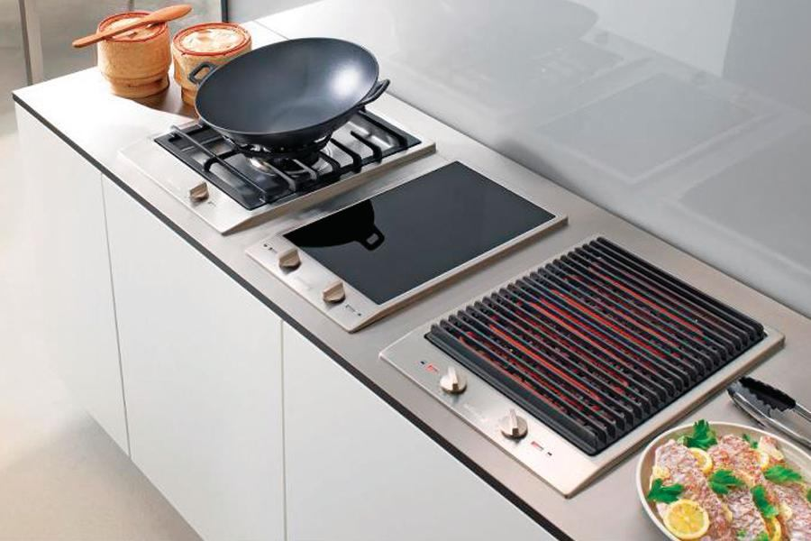 CombiSet Indoor Grill by Miele  Custom Home Magazine  Kitchen Appliances Heating Miele
