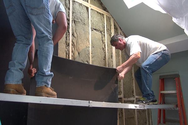 Soundproofing a Condo Stairwell  JLC Online