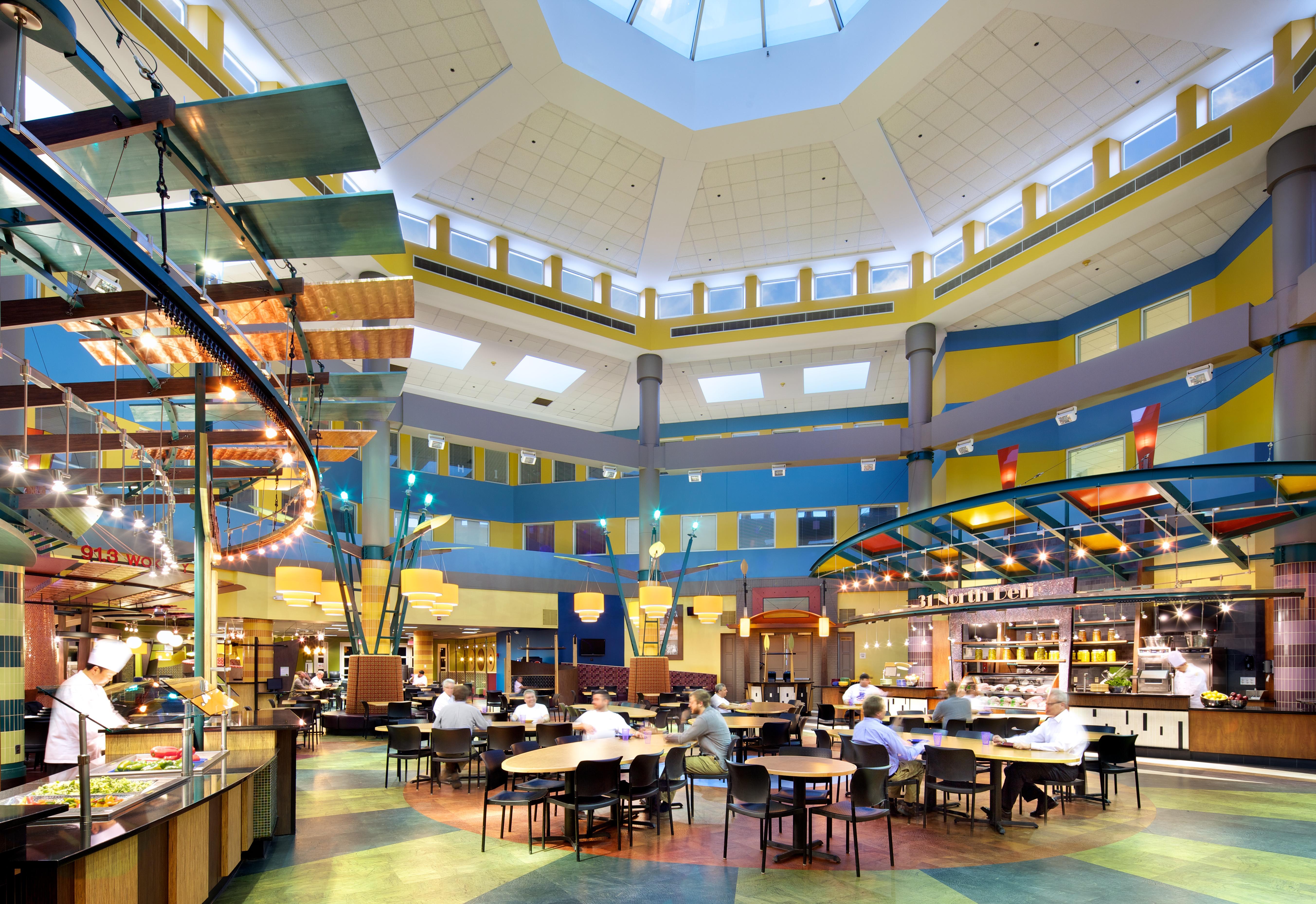 The Atrium At Eickhoff Hall Architect Magazine Connor