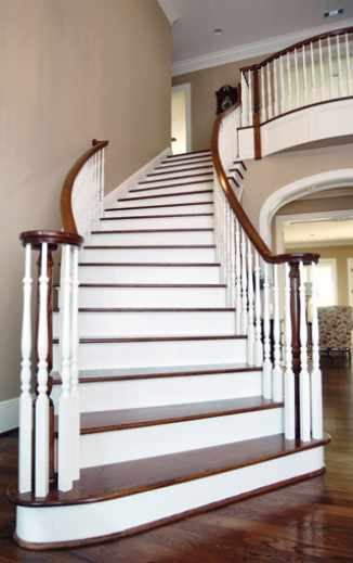 Building A Curved Stairway JLC Online Staircases Framing Walls
