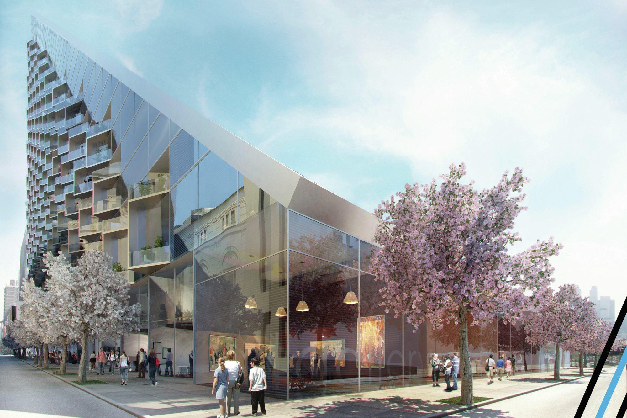 West 57th Designed By Bjarke Ingels Group Big