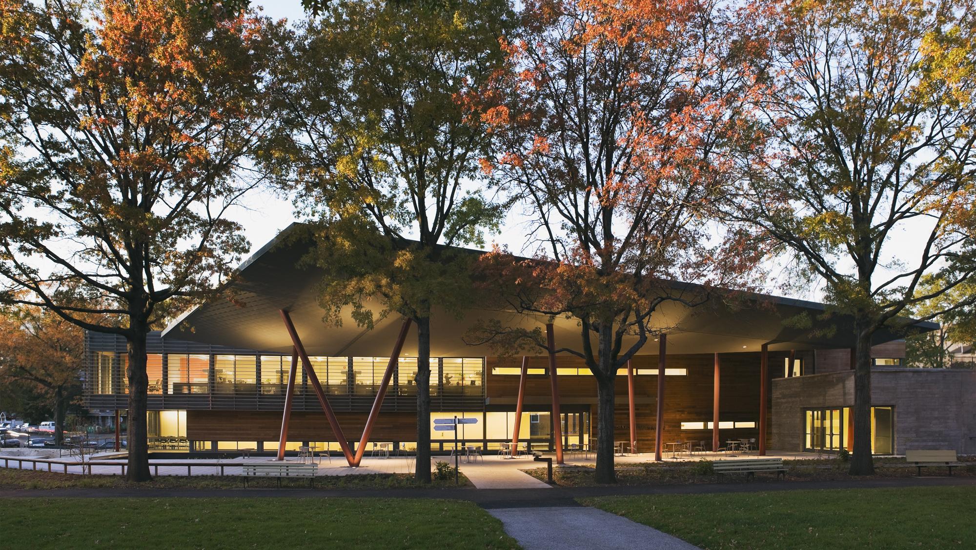 Queens Botanical Garden Visitor Amp Administration Center