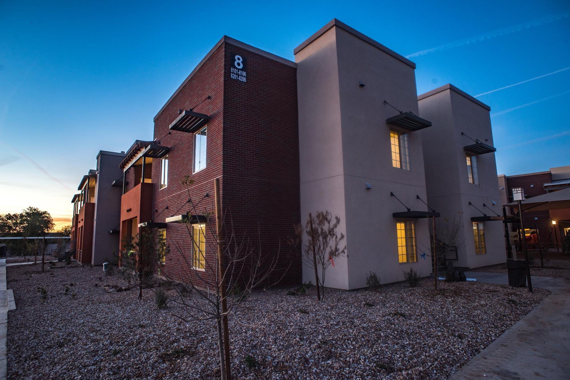 Rundown Arizona Public Housing Site Redeveloped With Help