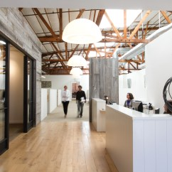 Kitchen Industrial Lighting Island With Stove Workspace: Ken Linsteadt Architects | Residential ...
