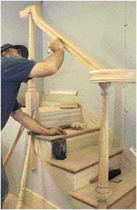 Installing an OverthePost Handrail  Part II  JLC
