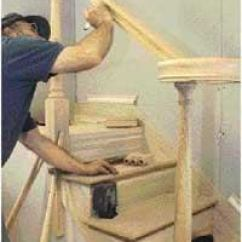 Kitchen Design Online White Bench For Table Installing An Over-the-post Handrail - Part Ii | Jlc ...