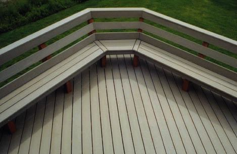 Benches Built for Comfort  Professional Deck Builder  Design Options and Upgrades Fencing