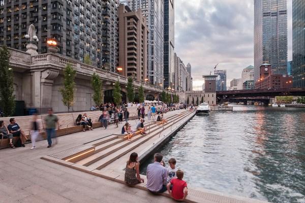 2017 Al Design Awards Chicago Riverwalk Architectural