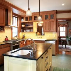 Craftsman Style Kitchen Hardware Ikea Cupboards A Minneapolis Remodel Captures The True